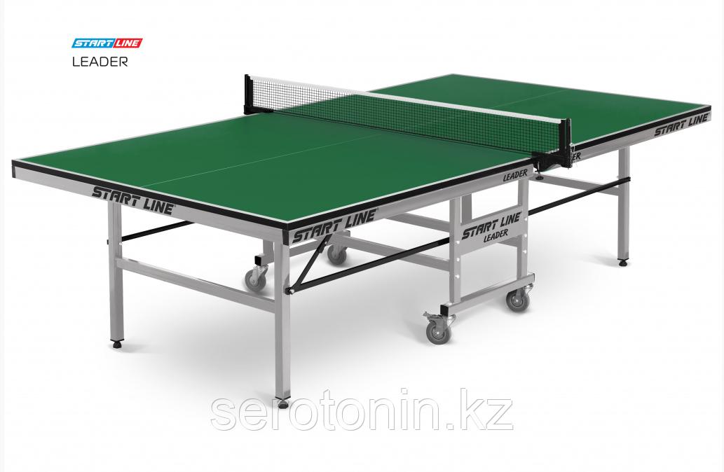 Теннисный стол Leader green