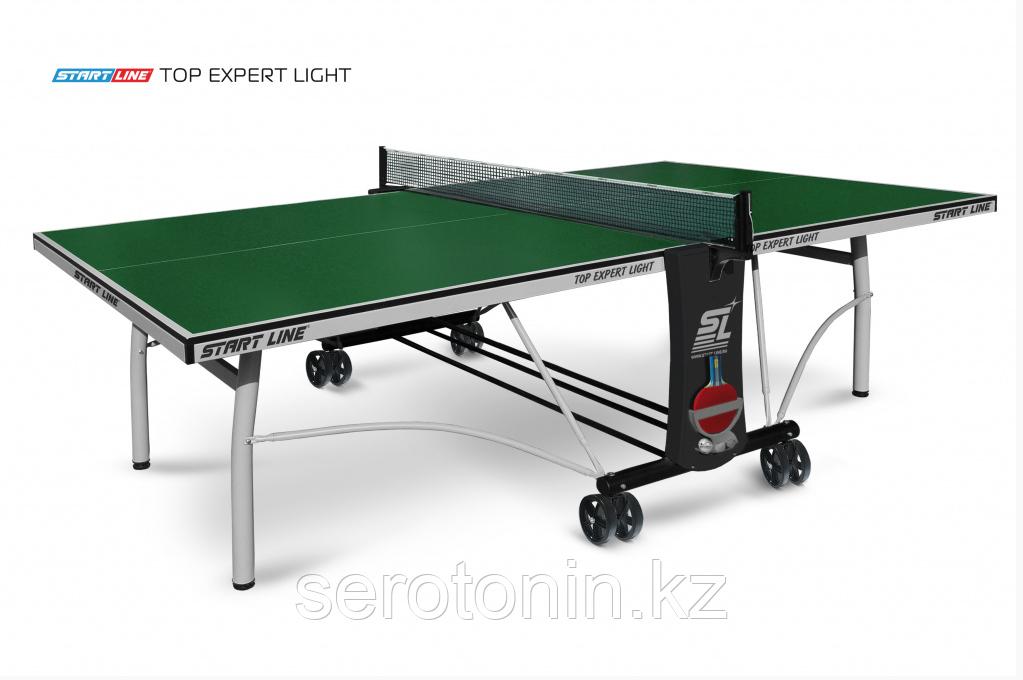 Теннисный стол Top Expert Light green с сеткой