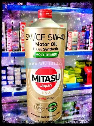 Моторное масло MITASU MOLY-TRiMER SM/CF 5W-40 100% Synthetic 1L