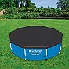 Тент для каркасного бассейна диаметром 366 см, BestWay 58037 + бируши в подарок, фото 3