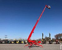 Аренда Телескопического подъемника на гусеницах 29 метров Teupen Spyder 29 спайдер паук