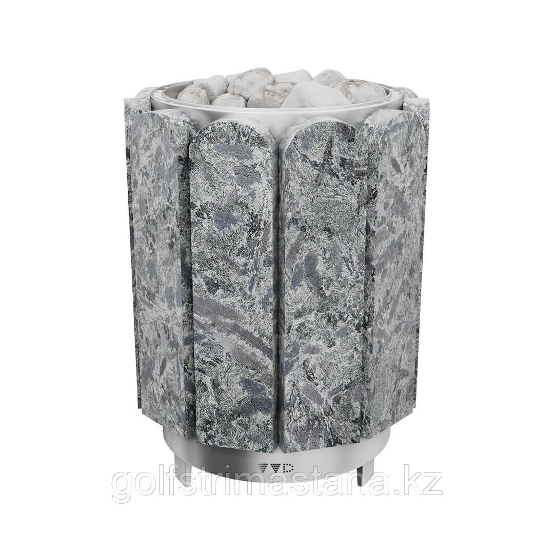 Печь-каменка, (до 12 м3), Премьера 9 кВт, Серпентинит Премиум
