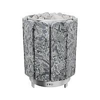 Печь-каменка, (до 15 м3), Премьера 12 кВт, Серпентинит Премиум