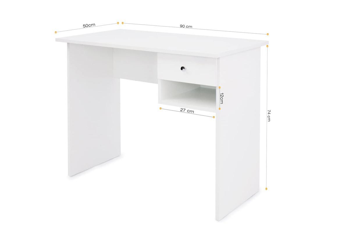 Стол письменный Т-02, Белый, Мебель-Сервис
