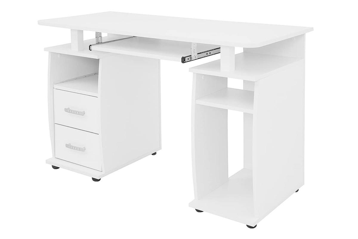 Стол письменный Т-05, Белый бриллиант, Мебель-Сервис