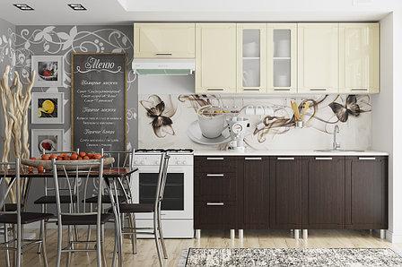 Комплект мебели для кухни Геометрия 2400, Ваниль/Венге, СВ Мебель(Россия), фото 2
