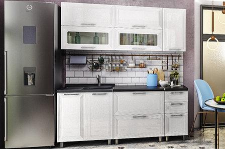 Монро Белый/бланш 2,0 м., Кухонный КОМПЛЕКТ, БТС Мебель, фото 2