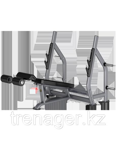Скамья для жима с отрицательным углом наклона Digger HD006-4