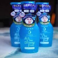 Пенка для умывания и снятия макияжа Shiseido Senka All Clear Double W с гиалуроновой кислотой и протеинами шел