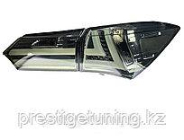 Задние фонари на Toyota Corolla 2013-16 дизайн Lexus Дымчатые