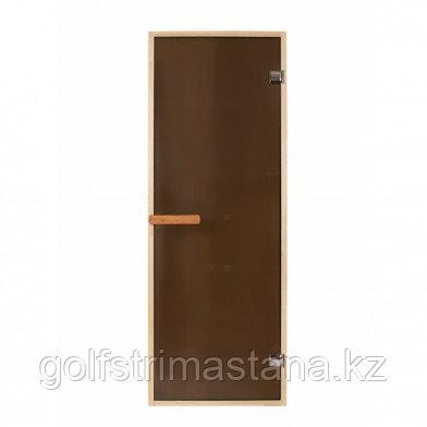 Дверь PREMIO 700х1870, стекло бронза, коробка ЛИПА ДВЕРЬ PREMIO 700Х1870, СТЕКЛО БРОНЗА, КОРОБКА ЛИПА