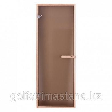 Дверь PREMIO, стекло - матовая бронза, коробка ЛИПА ДВЕРЬ PREMIO, СТЕКЛО - МАТОВАЯ БРОНЗА, КОРОБКА ЛИПА