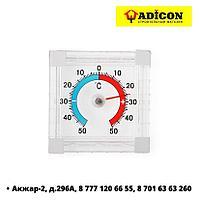 Термометр оконный, пластик 10х70х75мм (60-0-303)