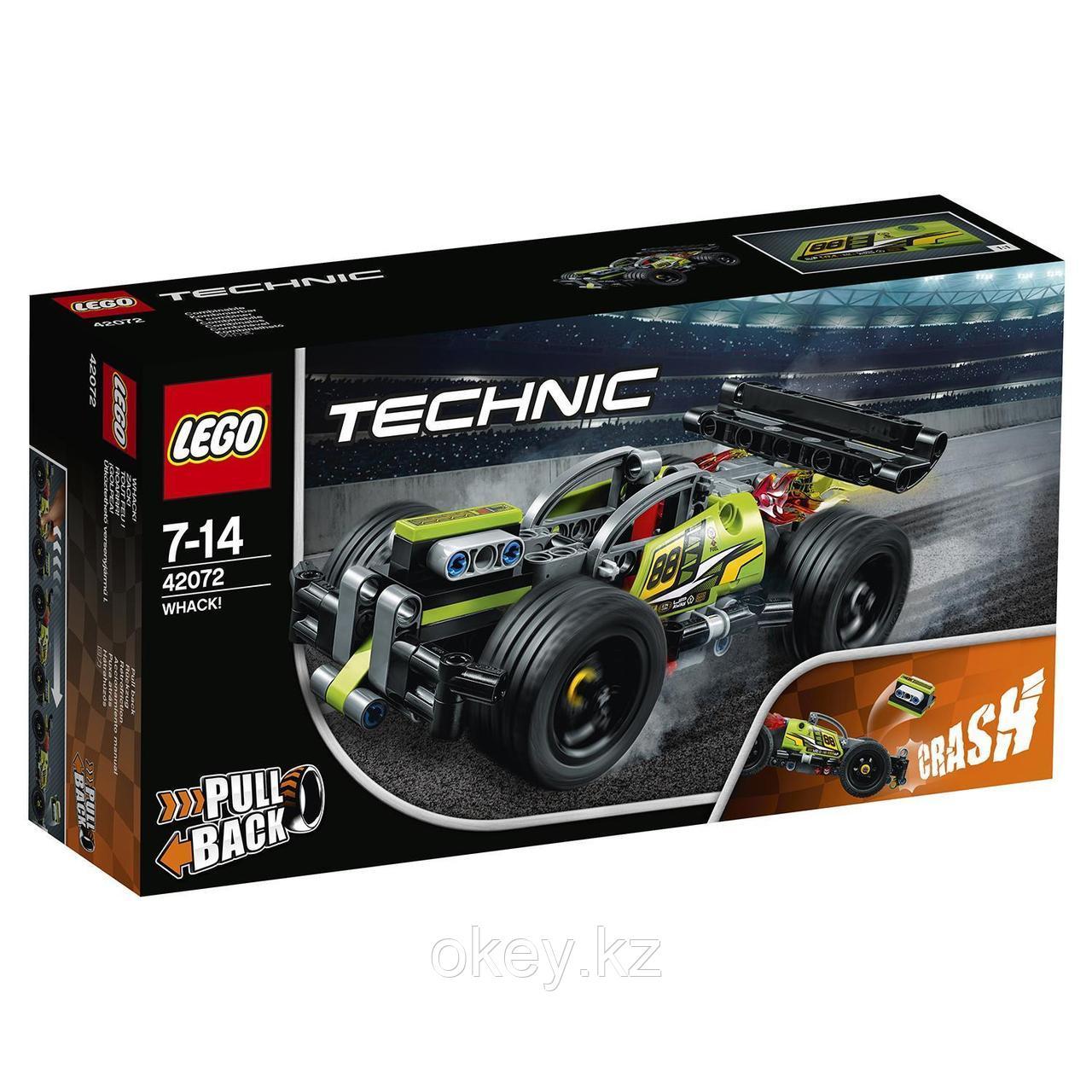 LEGO Technic: Зеленый гоночный автомобиль 42072