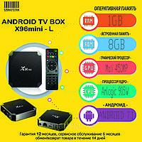 ANDROID TVBOX приставка X96MINI (1/8GB)