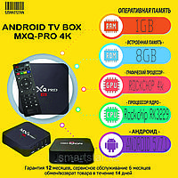 ANDROID TV BOX приставка - MXQ 4K PRO (1/8GB)