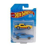 Hot Wheels базовые машинки, упаковка из 2-х штук
