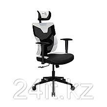 Игровое компьютерное кресло Aerocool Guardian-Azure White