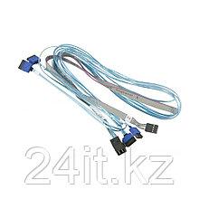 Кабель интерфейсный Mini SAS HD-4 SATA Supermicro CBL-SAST-0699