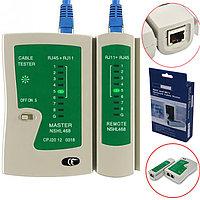 Тестер LAN NS-468 для RJ-45,RJ-11,кабельный тестер,сетевой тестер