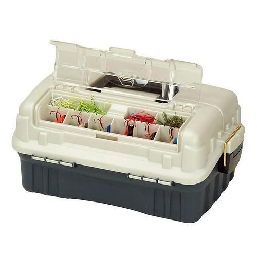 Ящик Plano 7602-00 с 2х уровневой ситемой хранения приманок с быстрым доступом к приманкам