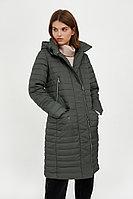 Пальто женское Finn Flare, цвет темно-зеленый, размер S