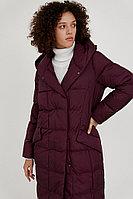 Пальто женское Finn Flare, цвет темно-бордовый, размер 3XL