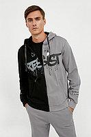 Толстовка мужская Finn Flare, цвет черный, размер 3XL