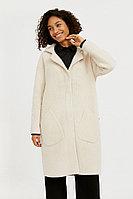 Пальто женское Finn Flare, цвет молочный, размер XL