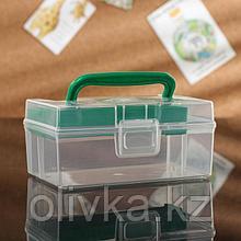 Контейнер с вкладышем Полимербыт «Аптечка дорожная», 0,8 л, цвет МИКС