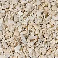Мраморный щебень белый, фракция 2,5-5, 10 кг