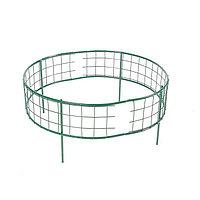 Клумба оцинкованная, 37 × 70 × 70 см, зелёная, «Решётка»