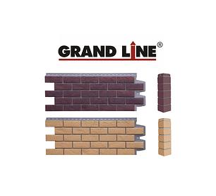 Фасадные панели Состаренный кирпич ЭЛИТ Grand Line
