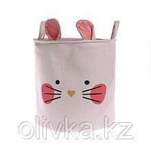 Корзина для хранения игрушек «Котик» 35×35×35 см