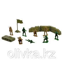 Набор солдатиков «Антанта», 13 предметов