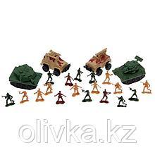 Набор солдатиков «Автоштурм», с техникой
