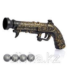 Пистолет «Пиратский мушкет», стреляет шариками, в пакете