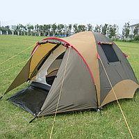 Четырехместная палатка водонепроницаемая двухслойная (130+220)x240x180 см Tuohai ART 1903
