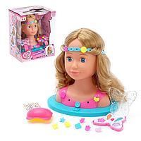 Кукла-манекен для создания причесок «Белла» с аксессуарами