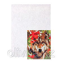 Картина по номерам на холсте Палитра, 30 × 40 см «Волк в осеннем лесу»