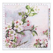 Канва для вышивания с рисунком «Рауль дэ Лонгпрэ. Цветущая яблоня», 41 х 41 см