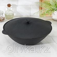 Сковорода WOK, 4 л, с алюминиевой крышкой