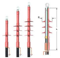 Концевые муфты для экранированных одножильных кабелей с пластмассовой изоляцией. Raychem POLT-12F/1XO