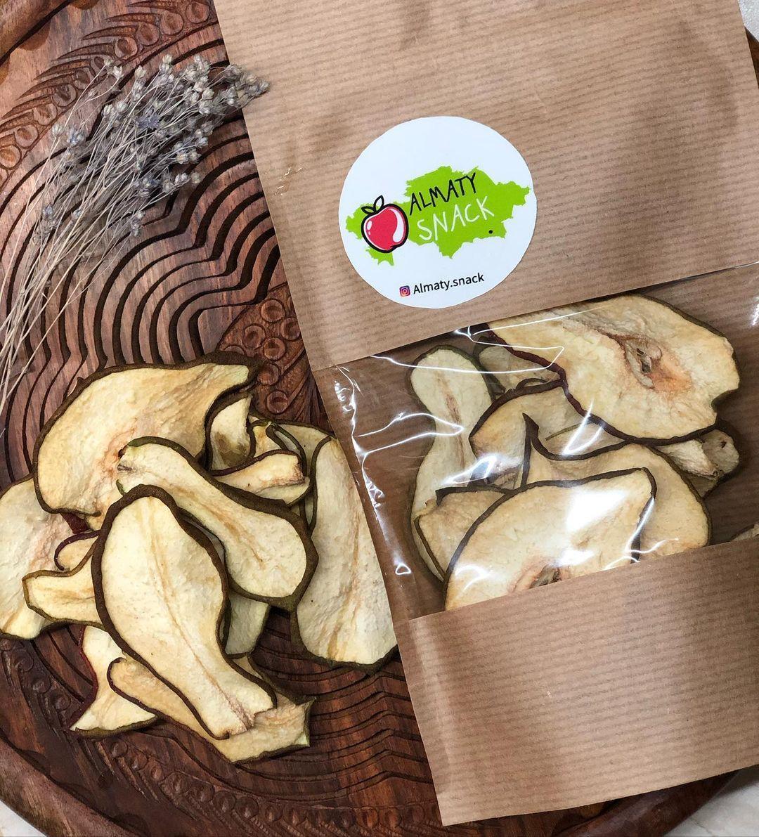 Фруктовые чипсы. Груша. Almaty Snack. Без упаковки на развес