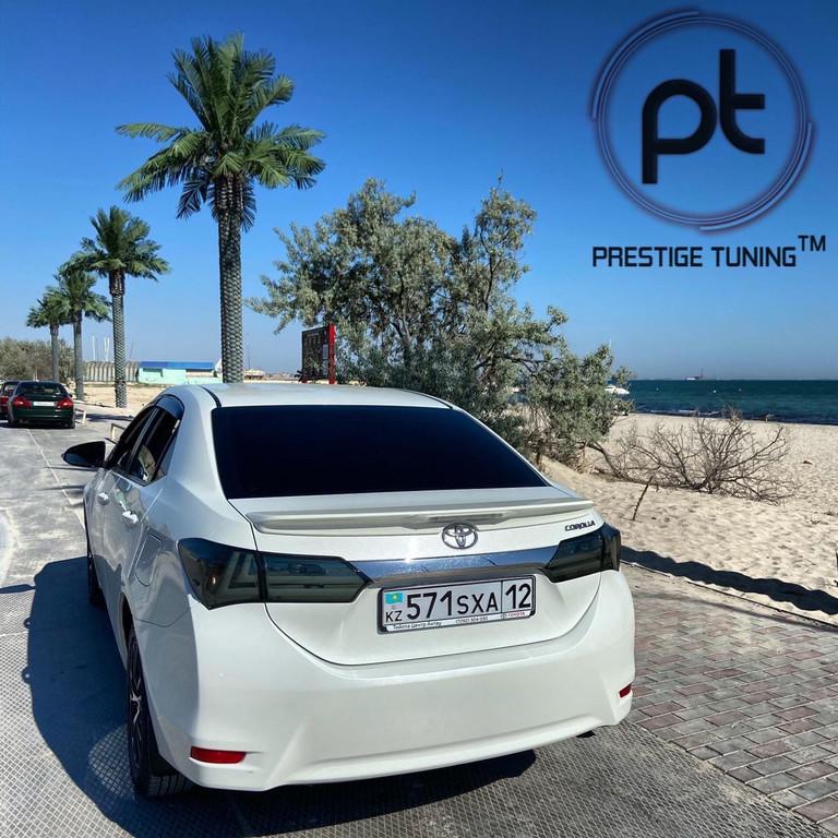 Наши клиенты✔ г.Актау Тюнинг фонари Lexus style Corolla 13-16✔ www.prestigetuning.kz #corolla #corollanation