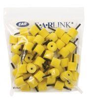 Noname Вкладыши для внутриушных телефонов (д.10-розовые), (д.13-желтые) для EP25 арт. 3110