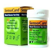 ИА Тест-полоски для глюкометра «SensoCard Plus» 50 шт. арт. ИА3498