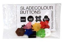 Noname Разноцветные пуговицы разных размеров и форм арт. ИА3504