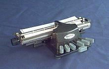 Tatrapoint Брайлевская пишущая машинка Tatrapoint Standard 2 арт. 4025