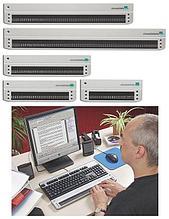 BAUM Retec AG Портативный тактильный дисплей Брайля SuperVario 24 арт. ЭГ4253